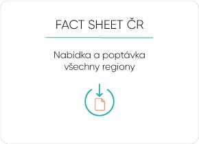 Fact Sheet - Nabídka a poptávka nové byty regiony ČR 2020 4Q