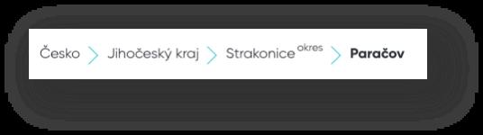 Flat Zone Vyhledávač - Drobečková navigace