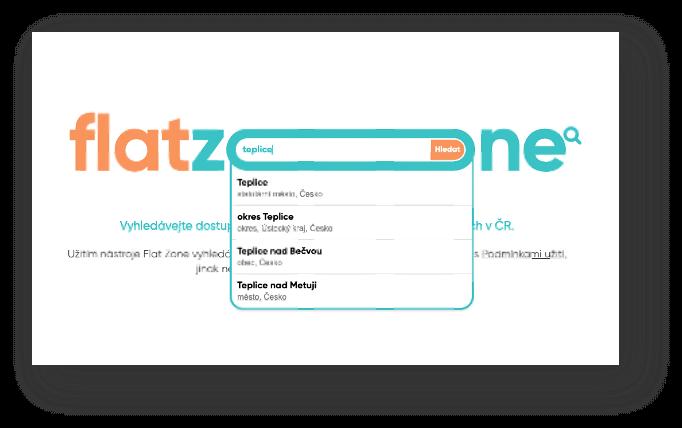 Flat Zone Vyhledávač - Našeptávač